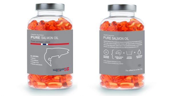Pure Norwegian Salmon Oil